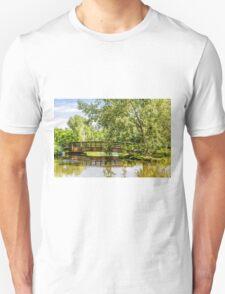 Bridge Over Lake T-Shirt