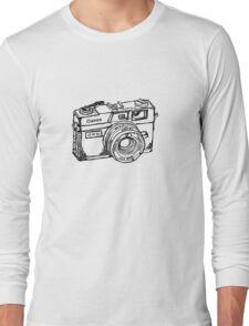 Canon Canonet QL17 GIII Rangefiner Camera Long Sleeve T-Shirt
