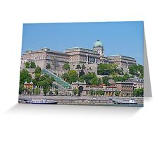 The Royal Palace, Budapest Greeting Card