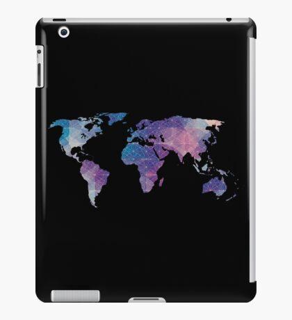 geometric watercolor continent iPad Case/Skin