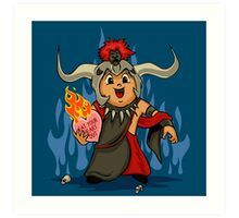 Valentines Day - Mola Ram Art Print