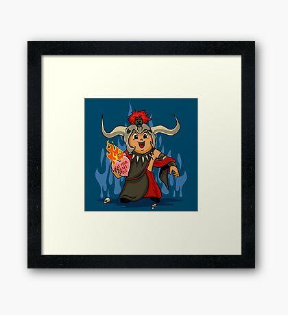 Valentines Day - Mola Ram Framed Print