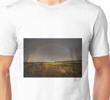 Double Rainbow on Harlow Common Unisex T-Shirt