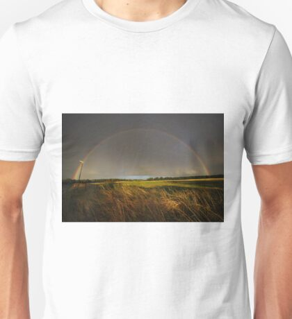 Double Rainbow on Harlow Common Unisex T-Shirt