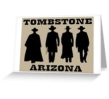 Tombstone Arizona Greeting Card