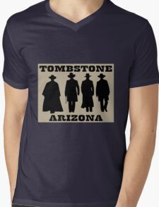 Tombstone Arizona Mens V-Neck T-Shirt