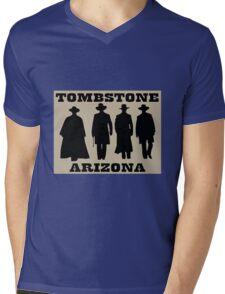 Tombstone Arizona Mens V-Neck T-Shirt