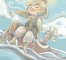 Sail Away (Legend of Zelda: Wind Waker) by Lunaros