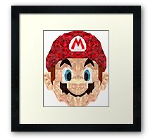 Mario Triangle Art Framed Print