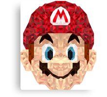 Mario Triangle Art Canvas Print