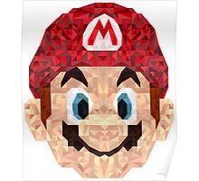Mario Triangle Art Poster