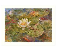 Pond in Summer Art Print