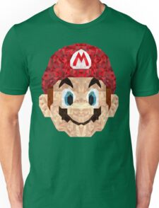 Mario Triangle Art Unisex T-Shirt