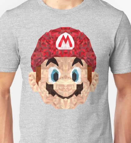 Mario Triangle Art Unisex T-Shirt