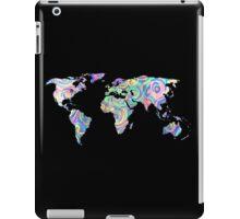 swirly design continents iPad Case/Skin