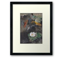 Pond Study Framed Print