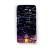 Orbiting Police Helicopter Long-Exposure Samsung Galaxy Case/Skin