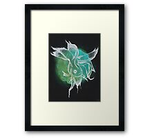 Beta Fish Print Framed Print