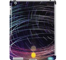 Orbiting Police Helicopter Long-Exposure iPad Case/Skin