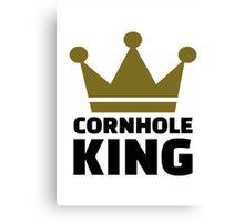 Cornhole king Canvas Print