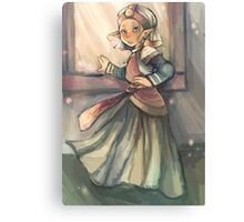 Enter Zelda (Ocarina of Time) Canvas Print