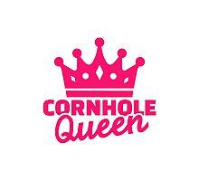 Cornhole queen Photographic Print
