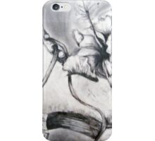 Flower and Skate iPhone Case/Skin