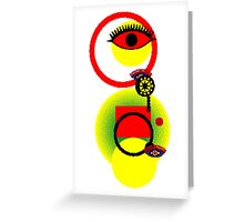 Osamu Sato - Eye Monster Greeting Card