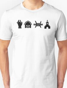The Walking Dead - Locations T-Shirt