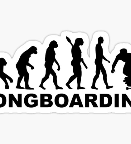Evolution Longboarding Sticker