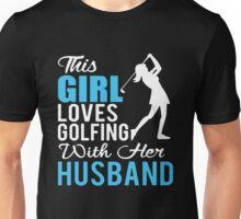 Golfing with Husband Unisex T-Shirt