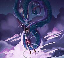 Spirited Away Print by Kisekii