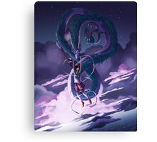 Spirited Away Print Canvas Print