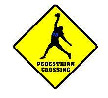 Doug Baldwin - Pedestrian Crossing Photographic Print