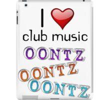 I heart club music iPad Case/Skin