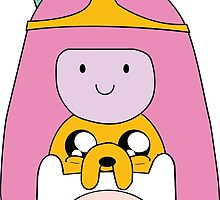 Adventure Time - Girly Totem - Finn, Jake, BMO and Princess Bubblegum by trapezedevil