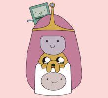 Adventure Time - Girly Totem - Finn, Jake, BMO and Princess Bubblegum Kids Clothes