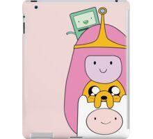 Adventure Time - Girly Totem - Finn, Jake, BMO and Princess Bubblegum iPad Case/Skin