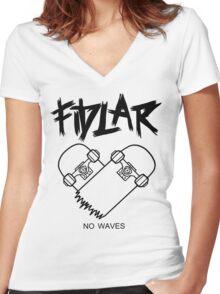 FIDLAR Women's Fitted V-Neck T-Shirt