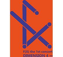 fx logo 1stconcert dimension 4 Photographic Print