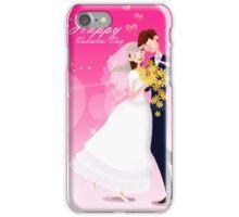 Happy Valentine Wedding iPhone Case/Skin