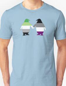 Aro Ace Pride Penguins T-Shirt