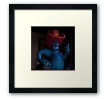 Sully Ten Gallon Hat Framed Print