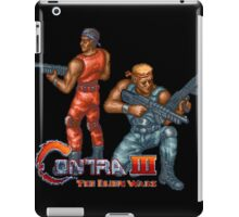Contra III iPad Case/Skin