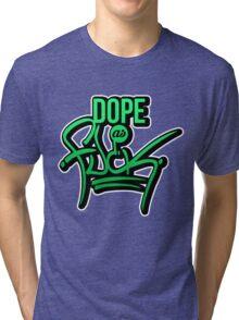 Dope as fk - version 1 - gradient Tri-blend T-Shirt