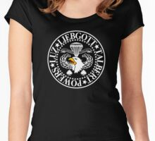 Band of Brothers Crest Women's Fitted Scoop T-Shirt