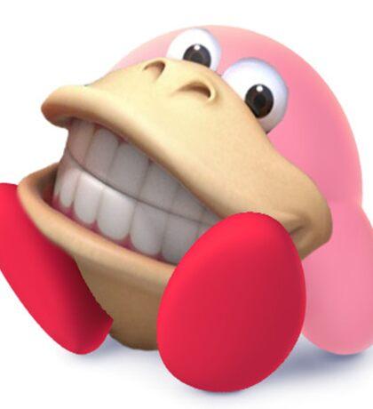 Donkey Kong Kirby Hybrid Sticker