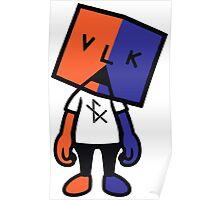 VLKA F(X) 1st concert dimension 4 Poster