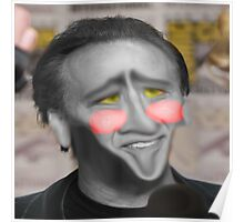 Nic Cage Photoshop Poster