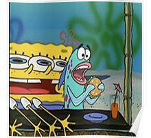 Spongebob funny Poster